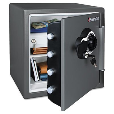 Sentry Combination Safe - Sentry Safe Combination Water/Fire Resistant Safe, 16-3/8