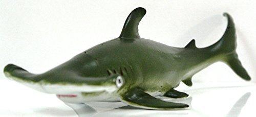 Shark Hammerhead Replica - MAMEJO NATURE 9 inch Realistic Rubber Replica - Hammerhead Shark