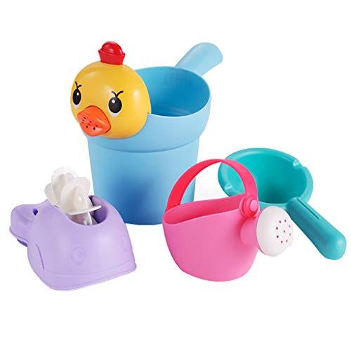 Hefu Fun Education Bathtub Children's Baby Shower Toy Gift Set Family Bath Toy