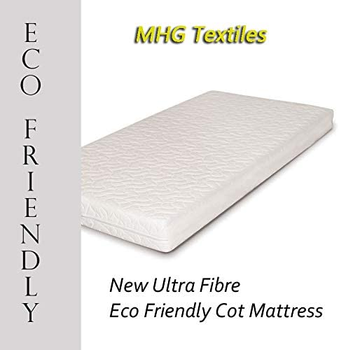 Junior Toddler New Ultra Fibre Eco-Friendly Baby//Toddler Cot Bed Mattress 120x60x13
