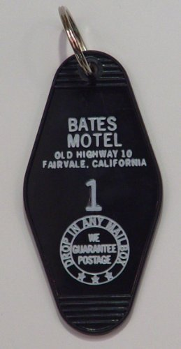 Bates Motel Key Tag