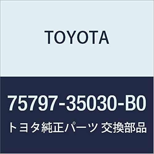 Genuine Toyota 75797-35030-B0 Door Molding Pad