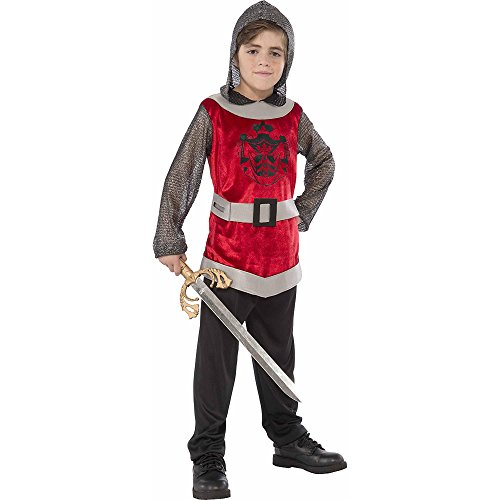 [Rubie's Boy's Knight Costume with Hood (Large (10-12))] (Shining Knight Costumes)
