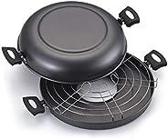 Churrasqueira Para Fogão Antiaderente N°30 Na Caixa Aluminio Oliveira Churrasqueira Para Fogão Antiaderente N°