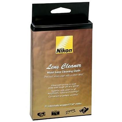 Nikon Moist Cloth Lens Cleaners (21 sheets)