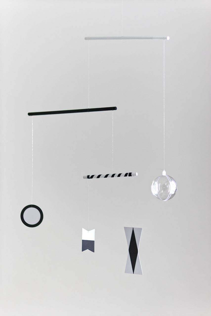 Amazon com montessori inspired mobiles black and white mobile handmade