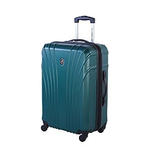 Atlantic Beaumont Medium Luggage - Hardside Expandable Spinner Luggage 24-Inch, Teal