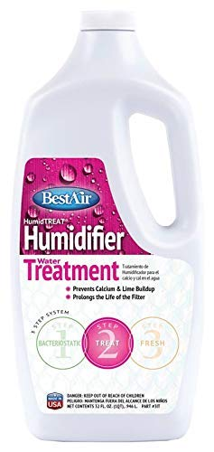 BestAir 1T, Humiditreat Extra Strength Humidifier Water Treatment (3, 32 oz) by BestAir