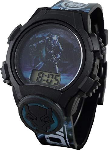 Marvel Avengers Black Panther KidsWakanda Forever Light Up Digital Watch