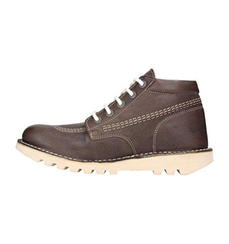 Kickers Neorallye - Zapatos de Cordones mujer Marrón