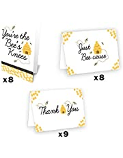 Bumble Bee Thank You Cards, 25 Count