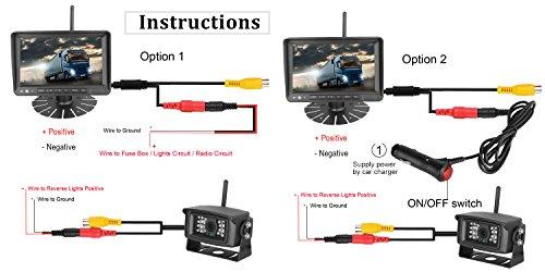 41crib4OmuL Yada Backup Camera Wiring Diagram Wireless on