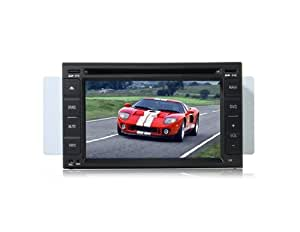 Conseguir HFK-Y7808 de 7 pulgadas TFT LCD Monitor de pantalla táctil de coches Navegación y Interrainment Sistema DVD Player (Negro)