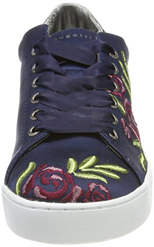 421291056950 Multicolour Women's Blue Bugatti Blue Sneakers Top Low 50Hx0w16q
