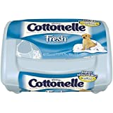 Cottonelle Fresh Flushable Wipes, Pop-Up Tubs, Case of 8/42s (336 ct)