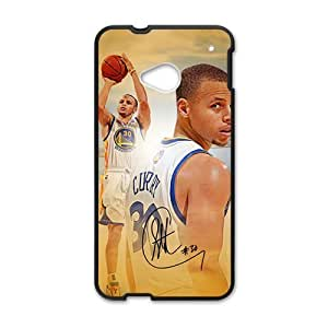 stephen curry Phone Case for HTC One M7 by icecream design