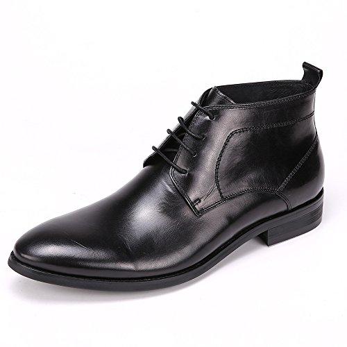Arcyll Men's Semi- Brogu Cowhide Chukka Boot (44 M EU, (Cowhide Mens Chukka)