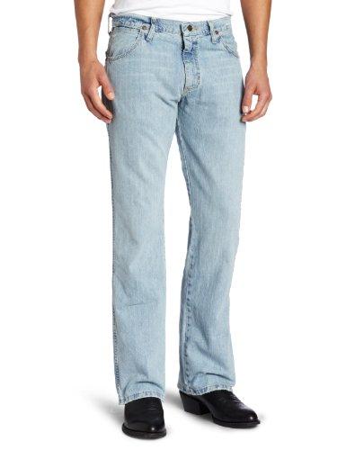 Wrangler Men's Retro Slim Fit Boot Cut Jean Blue Frost, Blue Frost, 29x34