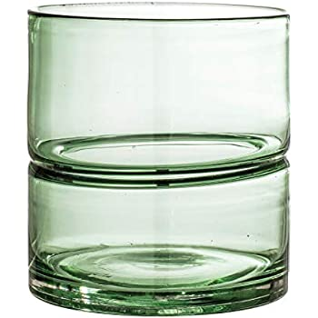 Bloomingville A82041843 Glass Vase, Green