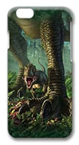 iPhone 6 Case, iPhone 6 Cases -Wee Rex Dinosaur PC case Cover for iPhone 6 and iPhone 6 3D