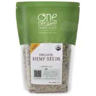 Onedeg: Hemp Seeds, Og2, 16 OZ by One Degree Organic Foods