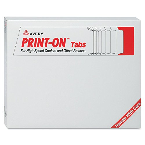 Avery Double Reverse Collated Dividers, Sheet Size 8.5 x 11 inches, White, 5-Tab Set, 30 Sets ()