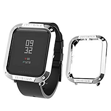 Sikai Slim Colorido Marco Caso Cubierta Proteger Shell Compatible con Huami Amazfit Bip Younth Watch Lightweight Protector Case Funda para Amazfit ...