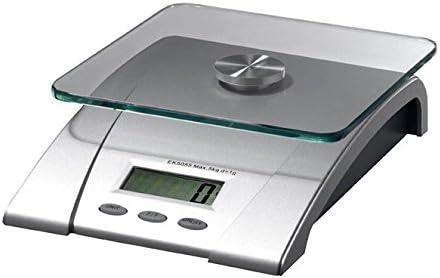 Ilsa 97521 Balanza de cocina digital, 5 kg, Plateado