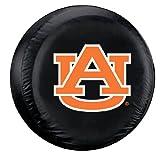 Fremont Die Auburn Tigers Black Tire Cover - Standard Size