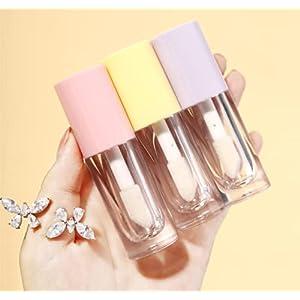 3PCS Empty Transparent Thick Walled Fat Lip Gloss Tube
