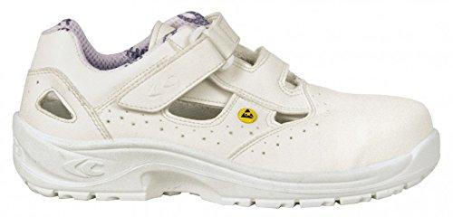 Cofra 10190-000.W41 Servius S1 Esd SRC Chaussures de sécurité Taille 41 Blanc