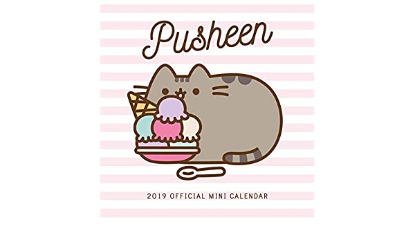 Pusheen Mini Official 2019 Calendar - Mini Wall Calendar ...