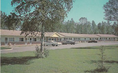 Terrace Bay - F1811 Canada, Terrace Bay Norwood Motel Postcard