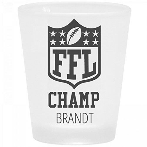 mp Brandt: Frosted Shot Glass ()