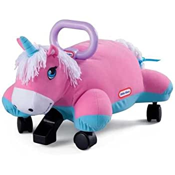Amazon Com Little Tikes Pillow Racers Unicorn Pink Toys