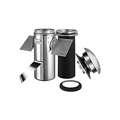SELKIRK CORP 208621 8-Inch Pitched Ceiling Kit