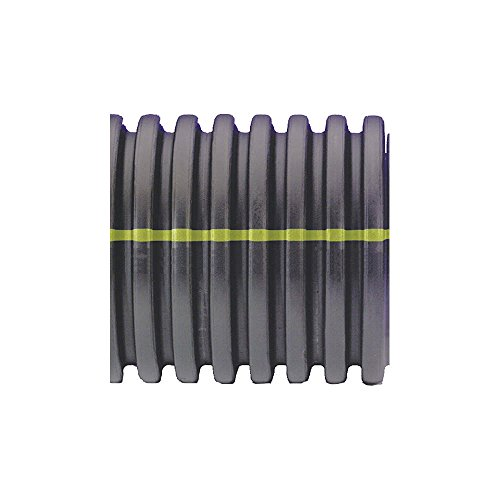Advanced Drainage Systems 15510020 Solid Corrugated Singlewall Pipe, 15