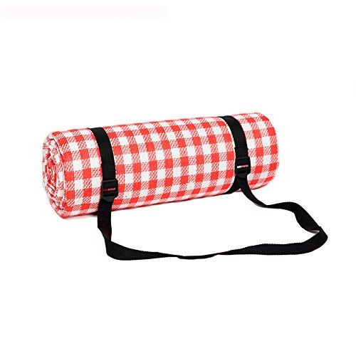 GUJJ Picknick Matte, Wasserdichte Verdickung Schwamm Wasserdicht mat