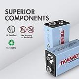 Tenergy9V NiMH Battery, High Capacity