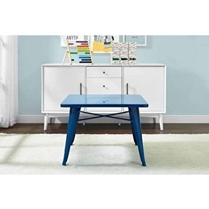 1c581aab94d Image Unavailable. Image not available for. Color  Better Homes and Gardens  Kids  Metal Table (Blue)
