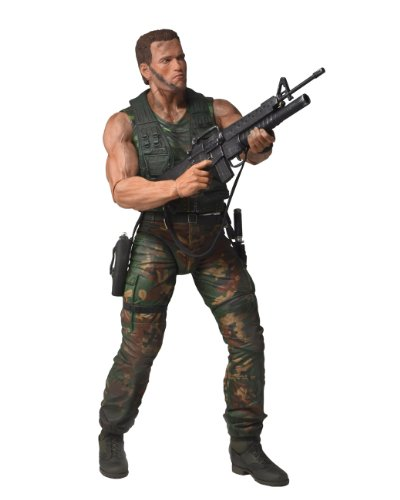 NECA Predators Arnold Schwarzenegger Action