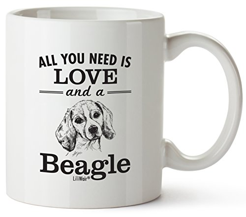 Beagle Mom Gifts Mug For Women Men Dad Decor Lover Decorations Stuff I Love Beagles Coffee Merchandise Accessories Talking Art Apparel Funny Birthday Gift Home Supplies Products Dog Coffee Cup Mugs