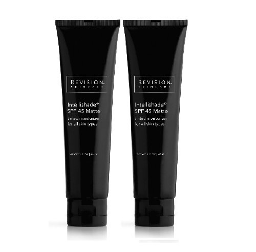 Revision Intellishade Broad-Spectrum SPF 45 Tinted Moisturizer - Matte, 1.7oz (2 Pack)