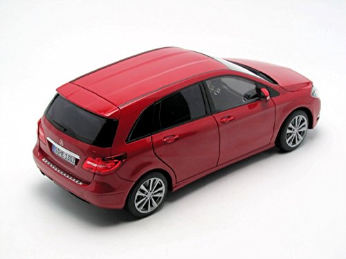 Amazon.com: 2011 Mercedes B180 Red 1/18 Diecast Car Model by ...