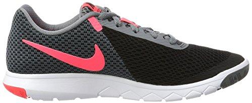 Nike Frauen Flex Experience RN 6 Laufschuh Schwarz / Hot Punch / Cool Grau / Weiß