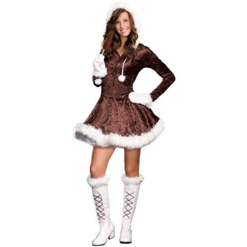 [Eskimo Cutie Pie Costume - Teen Medium] (Eskimo Cutie Costumes)