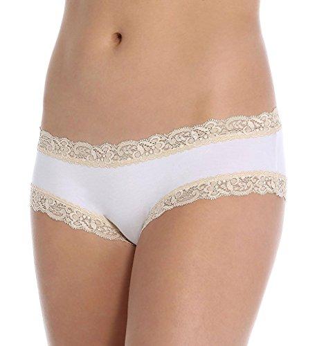 Fleur't LuLu's Delites Boyshort Panties (205) L/White/Nude