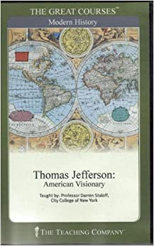 thomas jefferson american visionary The real thomas jefferson was an ordinary man,  without jefferson, the american experiment might have ended before it began  scientist, and visionary.