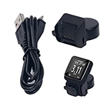 For TomTom Spark Cardio Replacement Charger , EXMART USB Charging Cable Charger Dock For TomTom Spark Cardio + Music GPS Fitness Watch