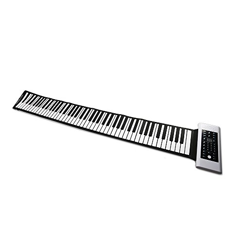 RUP 003 Konix PB88 88 Key Roll Up Piano with Rechargable Bat